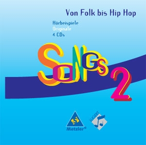 Songs von Folk bis Hip-Hop 2 Original CDs 4er Set