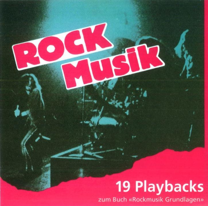 Playback-CD zu Rockmusik-Grundlagen