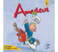 CD-ROM Amadeus 1 für das Gymnasium