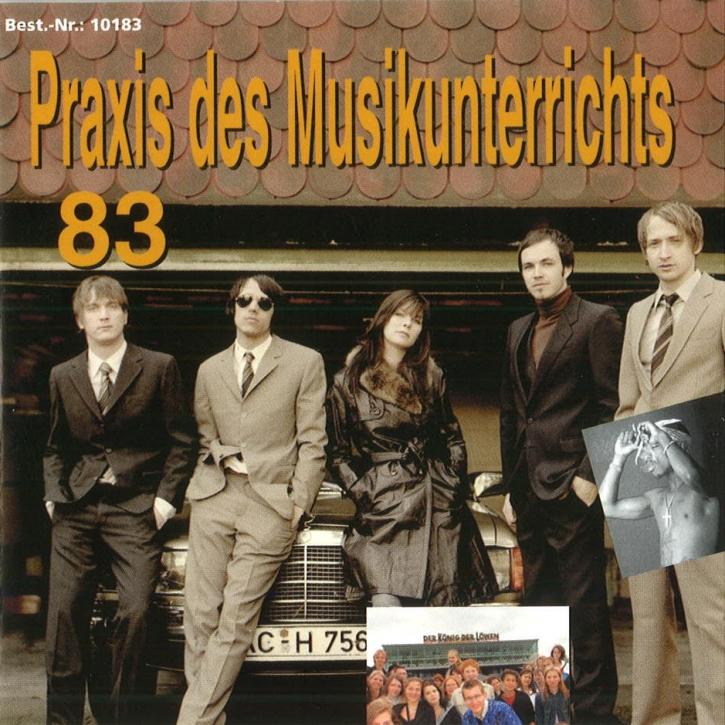 Praxis des Musikunterrichts 83: Audio-CD