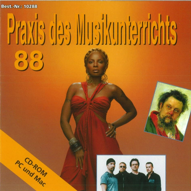 Praxis des Musikunterrichts 88: CD-Rom