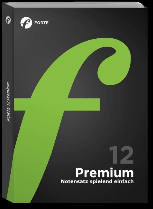 FORTE 12 Premium Education, Lehrerlizenz (nur mit Schulstempel)