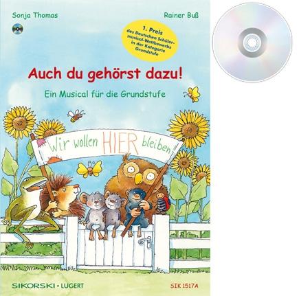 Auch du gehörst dazu! - Ein Musical für die Grundschule (Heft und CD)