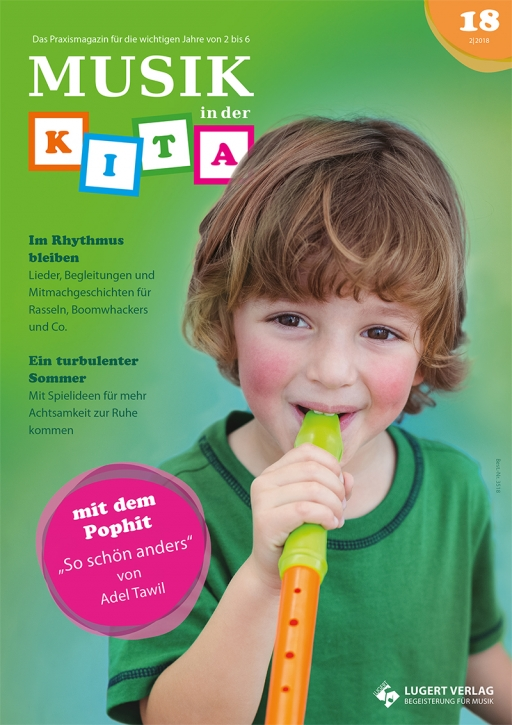 Musik in der Kita 18 Heft und CD