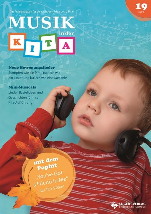 Musik in der Kita 19 Heft und CD für Abonnenten