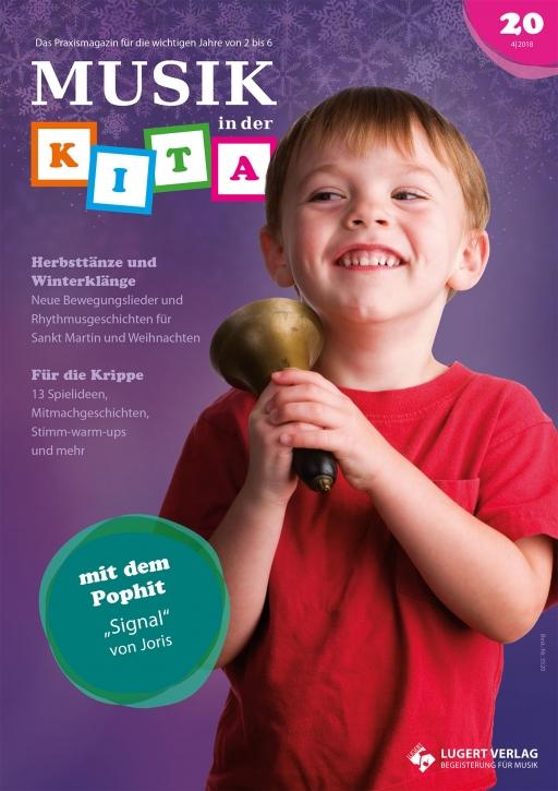 Musik in der Kita 20 Heft und CD für Abonnenten