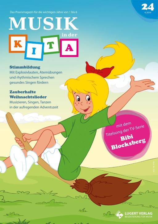 Musik in der Kita 24 Heft und CD für Abonnenten