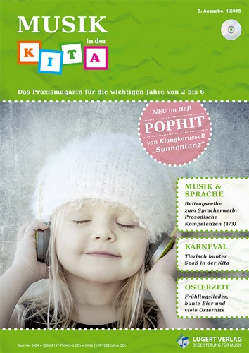 Musik in der Kita 5 Heft und CD