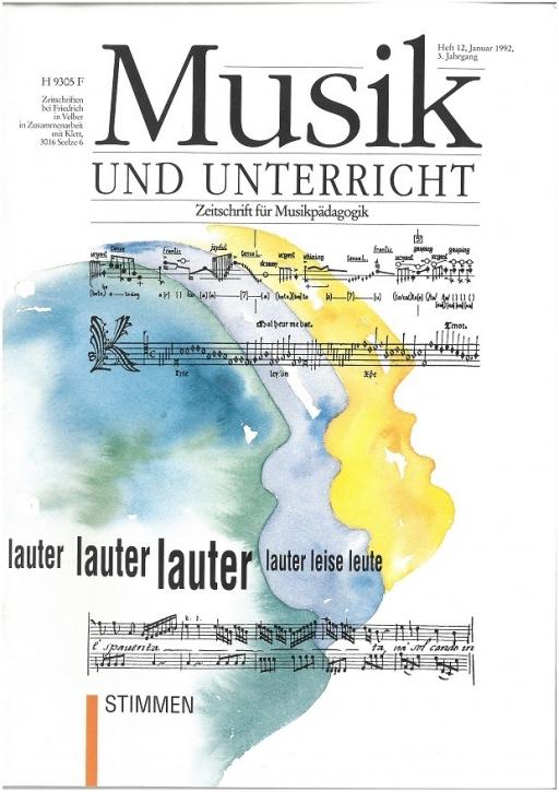 Musik und Unterricht Heft 12: Stimmen