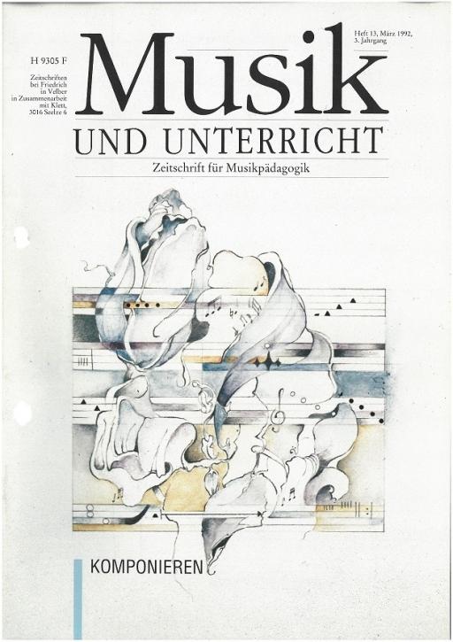 Musik und Unterricht Heft 13: Komponieren