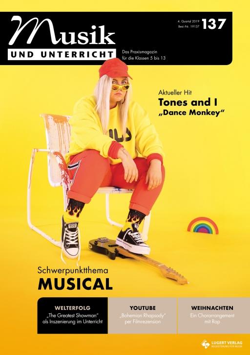 """Musik und Unterricht 137 - Schwerpunkt """"Musical"""""""