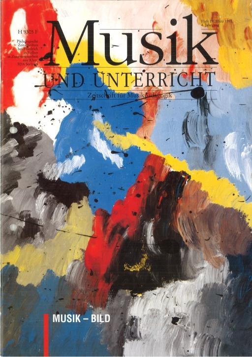 Musik und Unterricht Heft 19: Musik-Bild