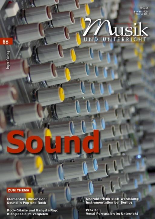 Musik und Unterricht 86: Sound