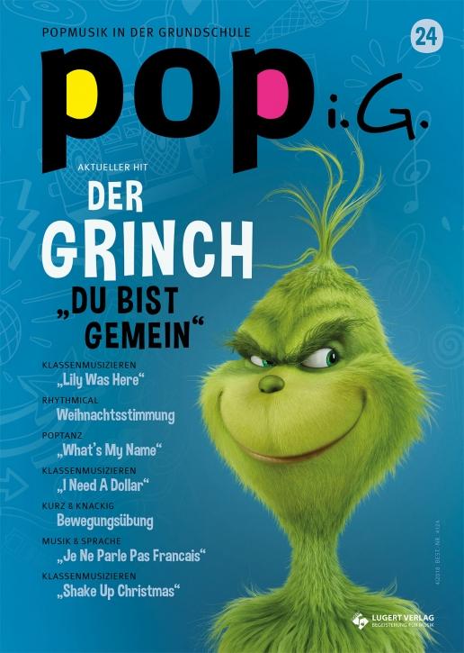 Popmusik in der Grundschule Heft 24 inkl. Audio-CD