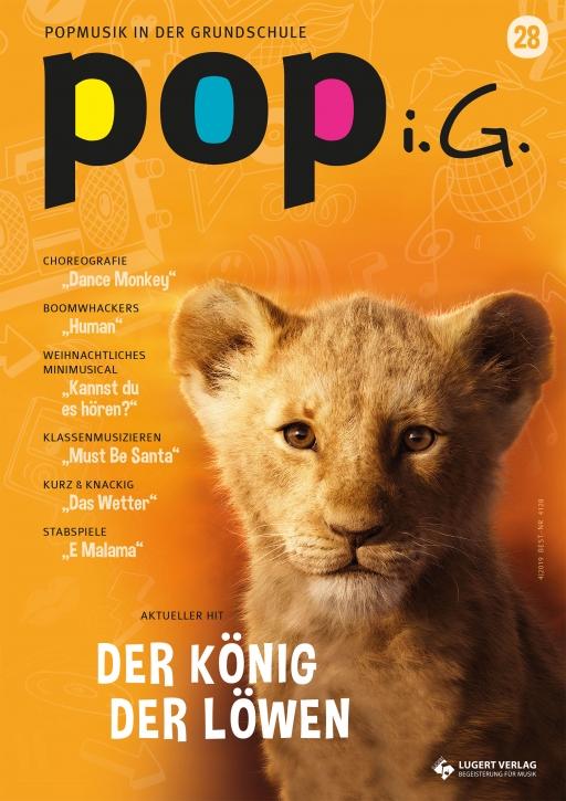 Popmusik in der Grundschule 28 Heft, CD und Download