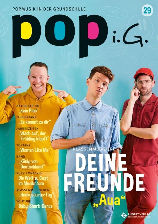 Popmusik in der Grundschule 29 Heft, CD und Download für Abonnenten