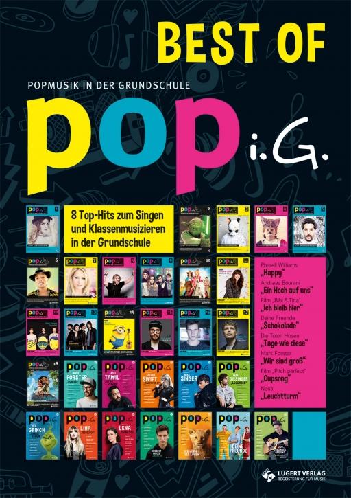 Best of POPi.G. - Popmusik in der Grundschule (Heft und CD)