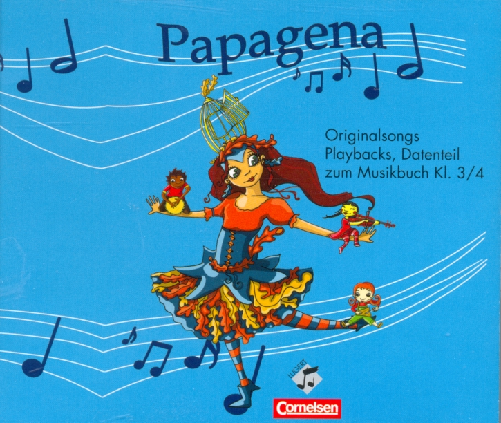 Papagena 3/4 - Deutsch - 4er-CD-Box (inkl. 1 CD+)
