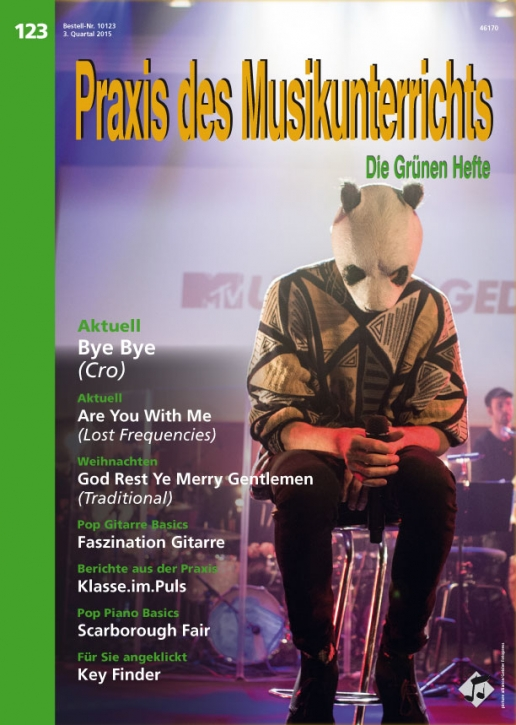 Prüfpaket Praxis des Musikunterrichts 123 Heft inkl. Audio-CD