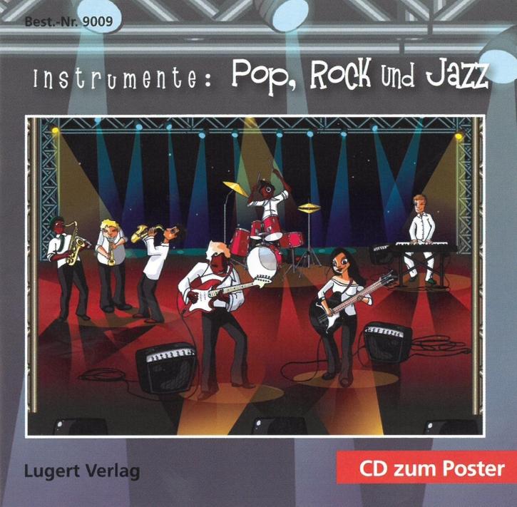 Instrumente der Jazz- und Rockmusik (2 Poster+CD)