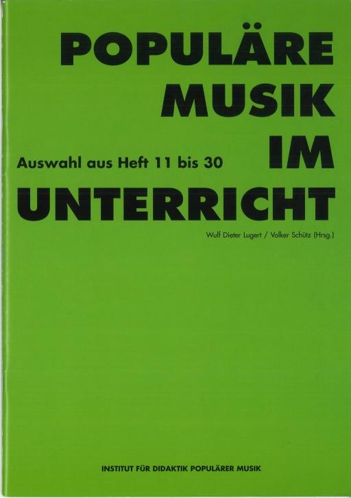 Populäre Musik im Unterricht 11-30, Paket