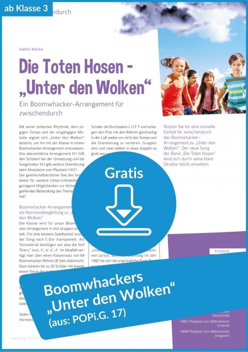 Gratis-Download: Boomwhackers in der Grundschule