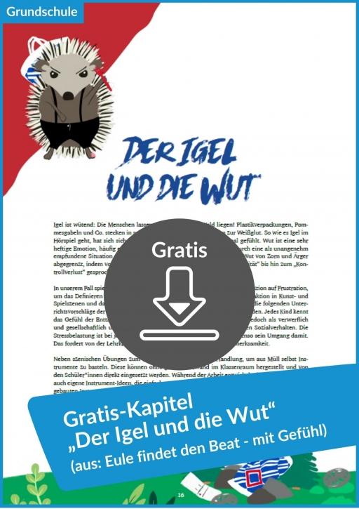 """Gratis-Download: """"Der Igel und die Wut"""" (aus: """"Eule findet den Beat – mit Gefühl. Das Unterrichtsmaterial"""")"""