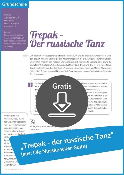 """Gratis-Download """"Trepak – Der russische Tanz"""" (aus: """"Die Nussknacker-Suite"""")"""