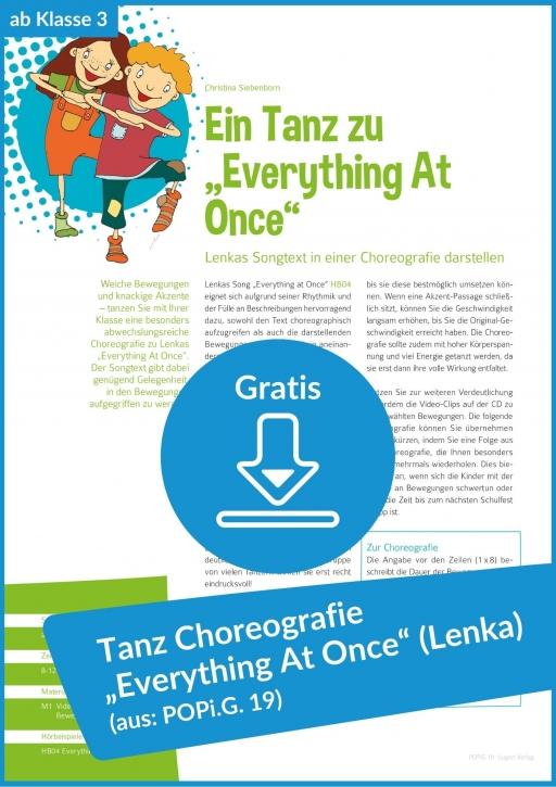 """Gratis-Download: Ein Tanz zu """"Everything At Once"""""""