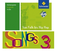 Songs von Folk bis Hip-Hop 3  (4er-Box Original-CDs)
