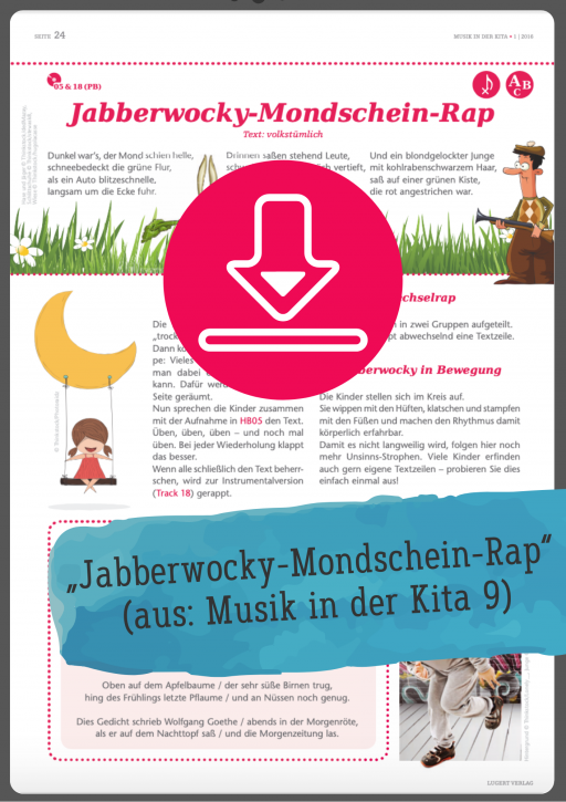 Gratis-Download: Jabberwocky-Mondschein-Rap