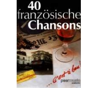 40 französische Chansons. Songbook (44 S.)