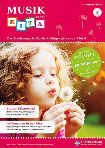Musik in der Kita 11 Heft und CD für Abonnenten