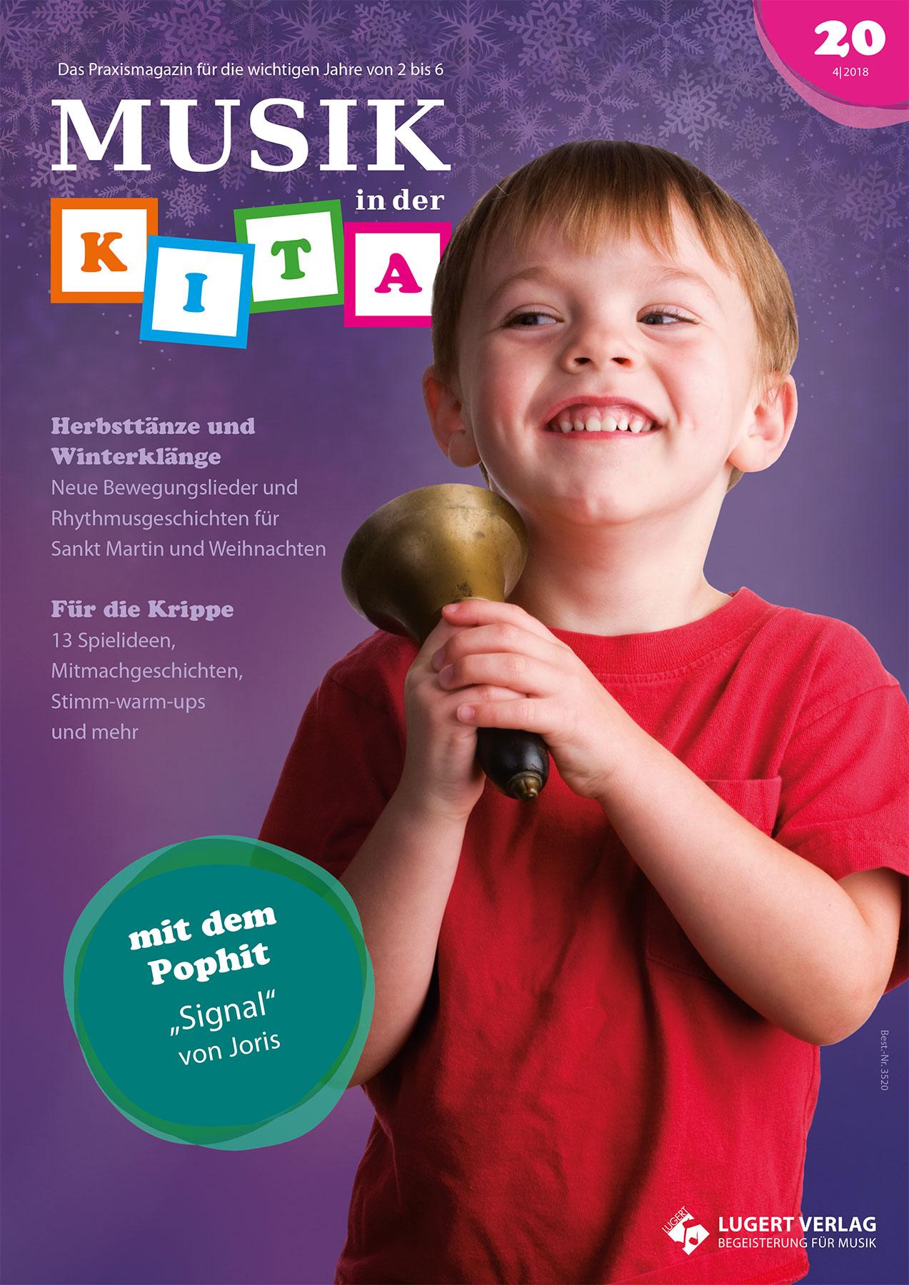 Prüfpaket Musik in der Kita 20 inkl. Audio-CD
