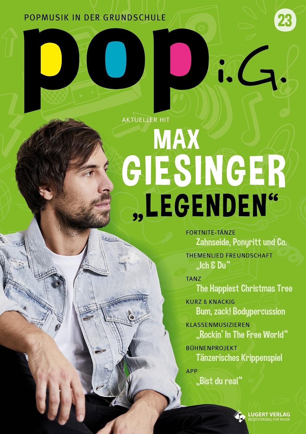 Prüfpaket Popmusik in der Grundschule: Ausgabe 23