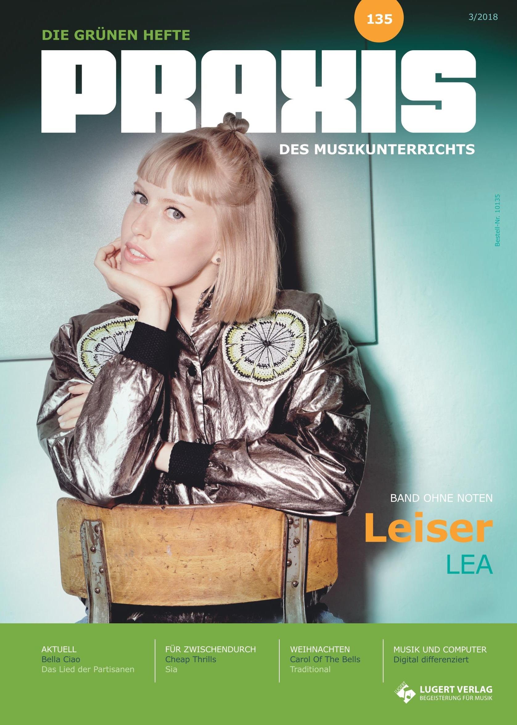 Prüfpaket Praxis des Musikunterrichts 135 Heft inkl. CD