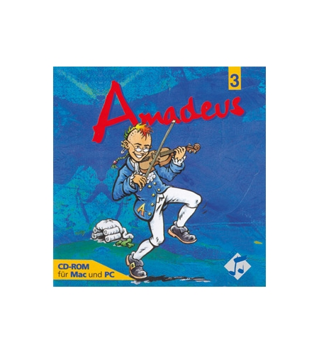 CD-ROM zu Amadeus 3 für das Gymnasium