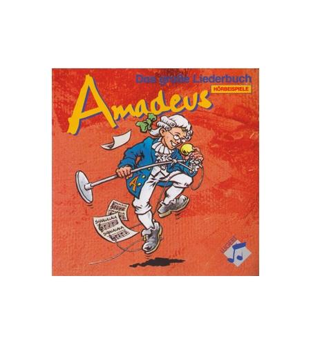 """Amadeus - 4 CD-Box mit Originalen zum """"Großen Liederbuch"""""""