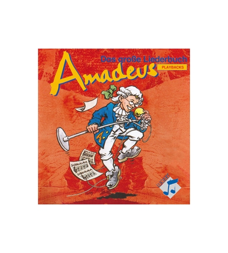 Amadeus - 2 CD-Box mit Playbacks zum