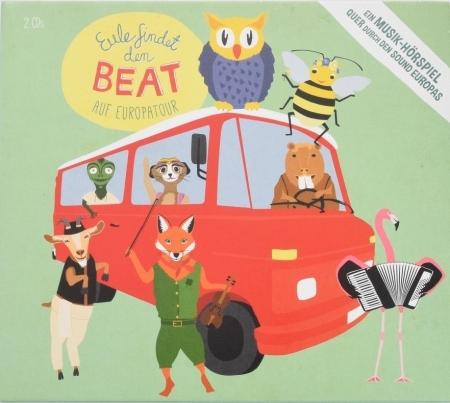 Eule findet den Beat auf Europatour, Hörspiel-CD