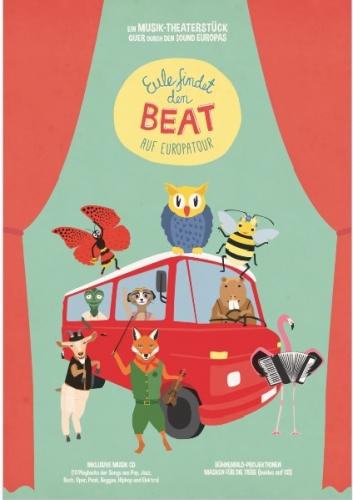 Eule findet den Beat auf Europatour, 2 Hefte inkl. 2 CDs