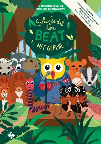 Eule findet den Beat mit Gefühl (Buch inkl. CD)