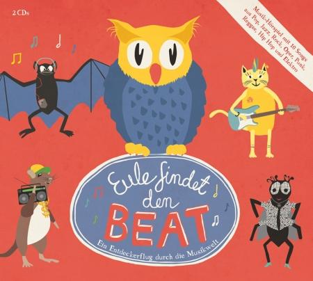 Eule findet den Beat, Hörspiel-CD