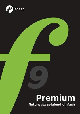 FORTE 9 Premium Education, Lehrerlizenz (nur mit Schulstempel)