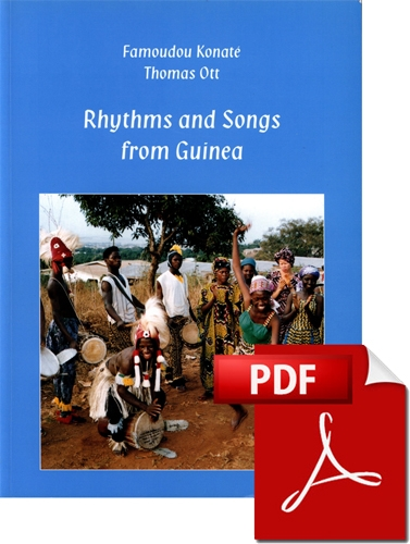 Rhythms and Songs from Guinea (English) E-Book plus Audio-CD