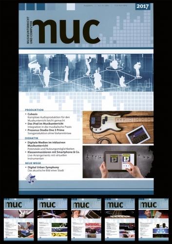 """""""Musikunterricht und Computer"""": Ausgaben von 2012 bis 2017 (Download-Paket)"""