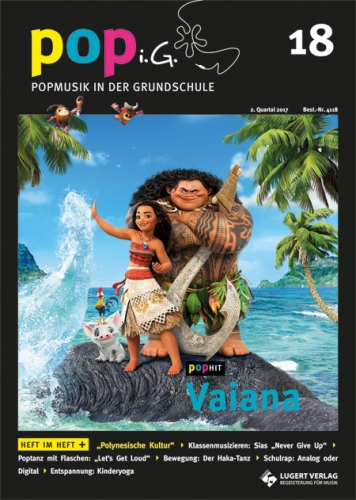 Popmusik in der Grundschule Heft 18 inkl. Audio-CD