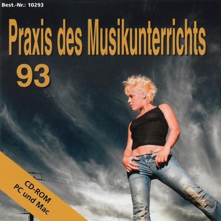 Praxis des Musikunterrichts 93: CD-Rom