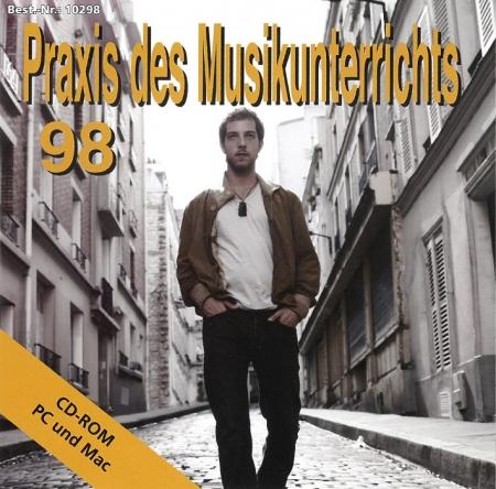 Praxis des Musikunterrichts 98: CD-Rom
