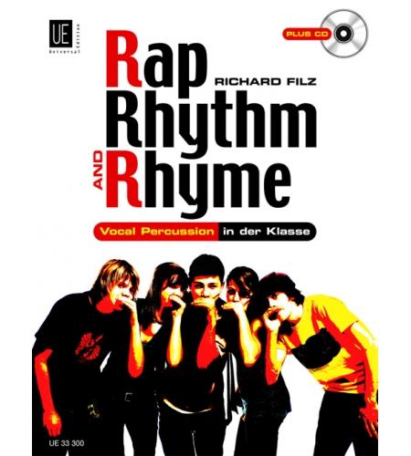 Rap, Rhythm & Rhyme, Buch inkl. CD